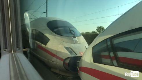 鉄道 海外 YouTube 新幹線 高速鉄道 ICE ドイツ 並走