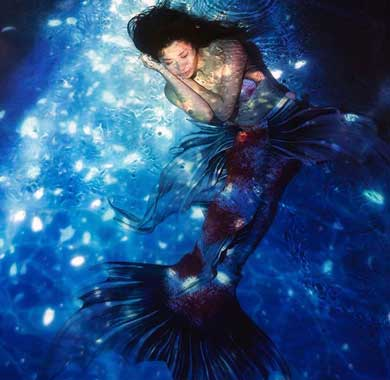 人魚 尻尾 泳ぐ シーラカンス 関西人魚会 マーメイド ステキ 美しい