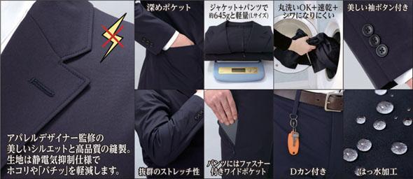 作業着スーツ
