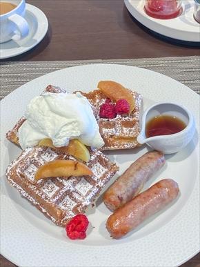 トッポリーノ・テラスの朝食