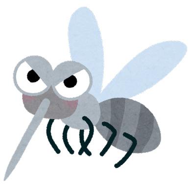 蚊のいらすと