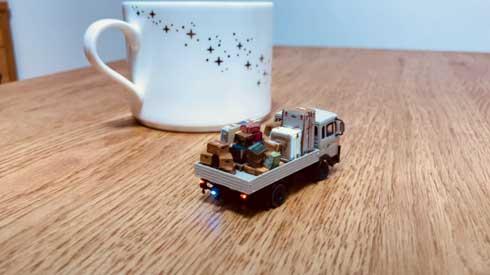 ハンドメイド 小型 ラジコン 1/87 サイズ RC化 模型