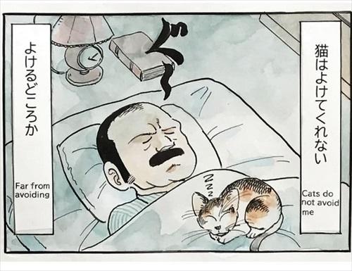 オヤジと猫