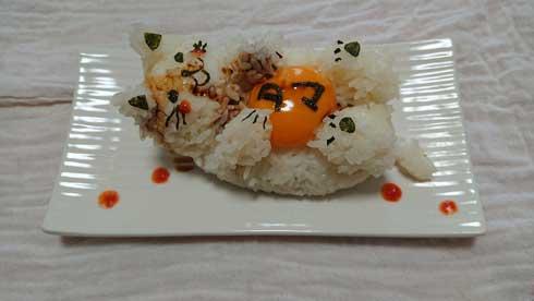 タマごかけご飯 猫 かわいい 卵かけご飯