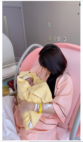八田亜矢子 出産 長男 黄疸 退院