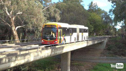 鉄道 バス ガイドウェイバス 名古屋 ゆとりーとライン YouTube オーストラリア オーバーン