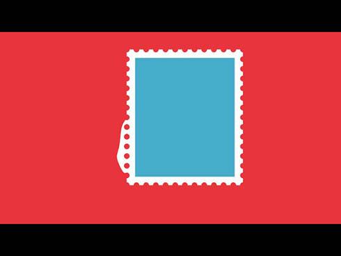 オリジナル 切手