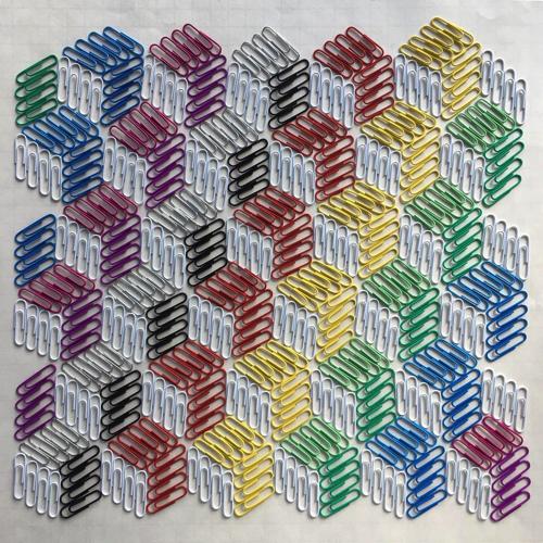 幾何学模様のアート