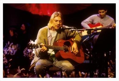 カート・コバーン ギター オークション 落札最高額 6億 601万ドル MTVアンプラグド