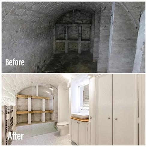 魔窟がセレブハウスに変身 モンスターが出現しそうなダンジョン風建物が数年かけて新築のようになるビフォーアフターがすごい