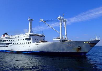 さるびあ丸 東海汽船 伊豆諸島 船旅