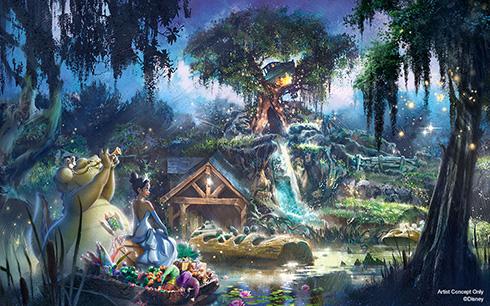 ディズニーのアトラクション「スプラッシュマウンテン」が廃止 人種差別の批判を受けて「プリンセスと魔法のキス」へ変更