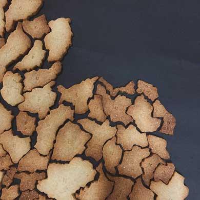 タイ77県 クッキー 型抜きなし 型紙 手作り