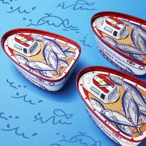 漁船ツナ缶