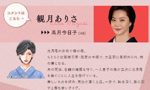 観月ありさ 女将 ドラマ 横浜流星 浜辺美波