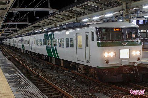 鉄道 夜行 尾瀬 ハイキング 東武