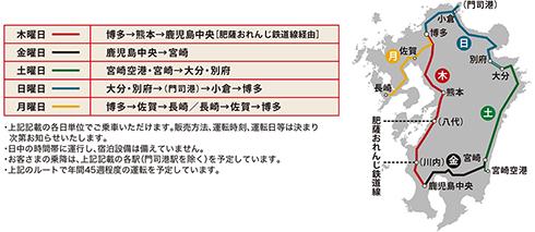 JR九州 36ぷらす3 観光列車 九州 787