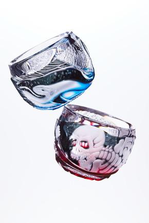 浮世絵切子グラス