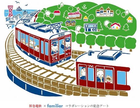 阪急電鉄 × ファミリアコラボ