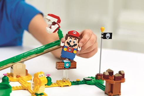 レゴの世界で冒険するマリオが登場 世界に先駆けて日本先行販売を開始