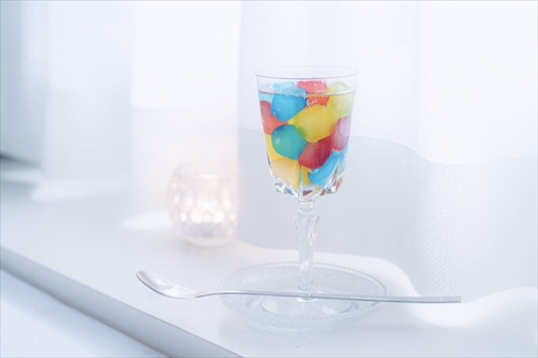 わらび餅 ソーダ サイダー 飲み物