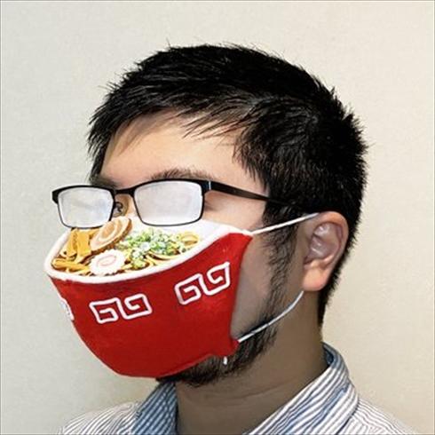 ラーメン マスク