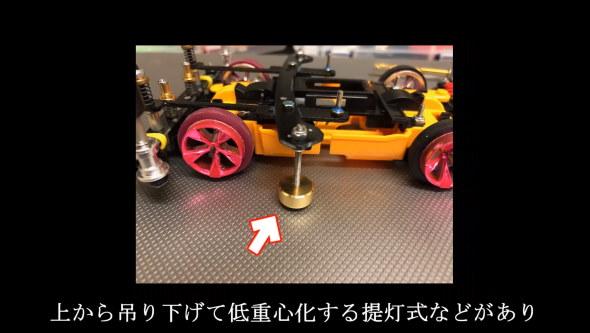 ミニ四駆 スロープ ダンパー 工作 てち ためにならない ボディブレード式筋トレ型ダンパー