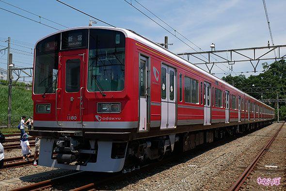 小田急 箱根登山鉄道 箱根登山電車 復旧 赤い 1000形