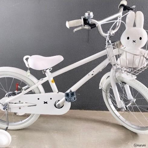 ミッフィー自転車