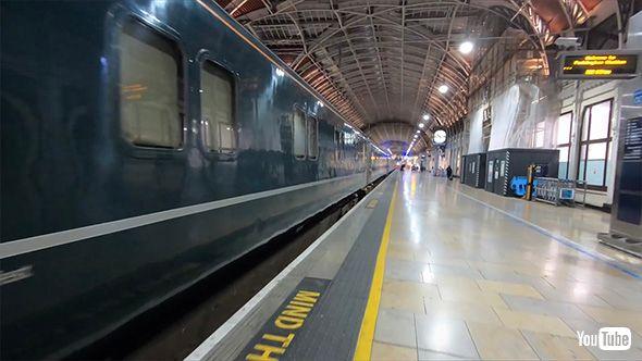 海外 鉄道 YouTube 夜行 ブルートレイン 銀河 サンライズ イギリス ナイト リビエラ