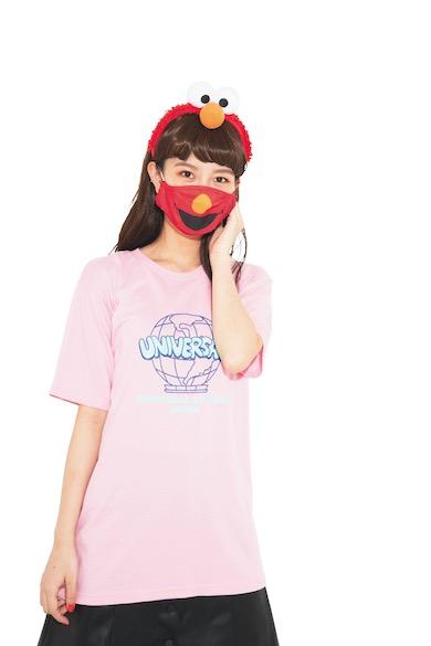 USJ口元柄マスク