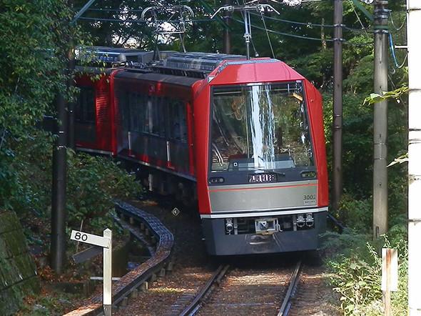 箱根登山鉄道 再開