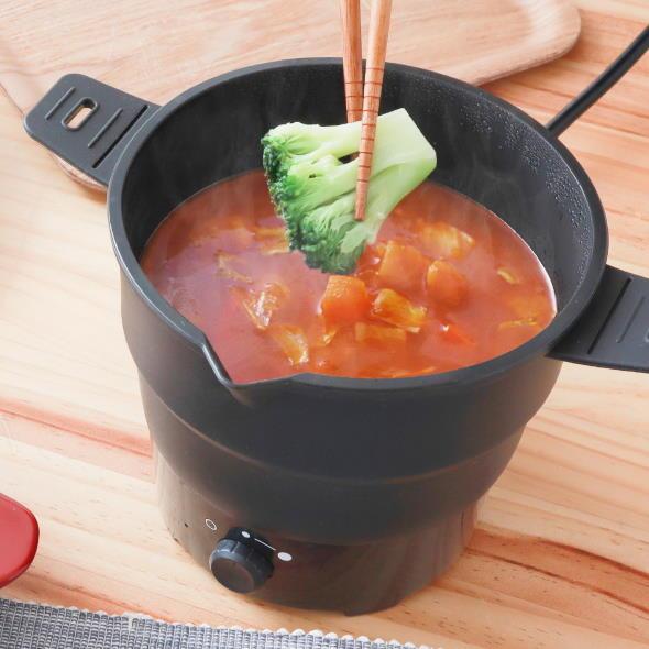 サンコーレアモノショップ 柔らか鍋 ケトル 自炊 1人 煮込み