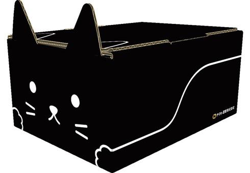 ネコ耳BOX(黒)
