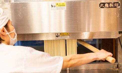 丸亀製麺の打ち立てセット