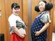 """妊娠中のニッチェ江上、相方との2ショット公開 コンビでポッコリおなかの""""妊婦姿""""に「予定日同じ?」とノリツッコミ相次ぐ"""