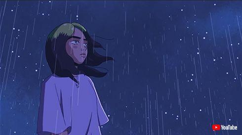 ビリー・アイリッシュ 新曲 my future mv ミュージックビデオ ジブリ アニメ トトロ もののけ姫