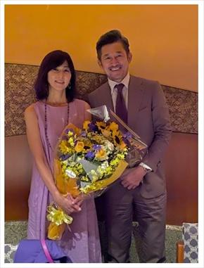 三浦りさ子 三浦知良 キングカズ 夫婦 結婚記念日 ブログ