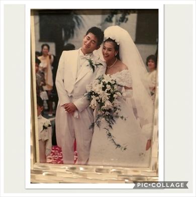 三浦りさ子 三浦知良 キングカズ 夫婦 結婚記念日 ブログ 結婚式