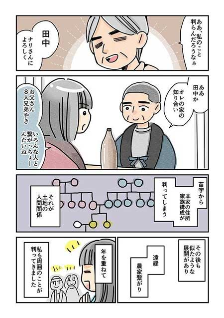 村社会 3つの特徴 漫画 プライバシー 人間関係 よそ者 重い