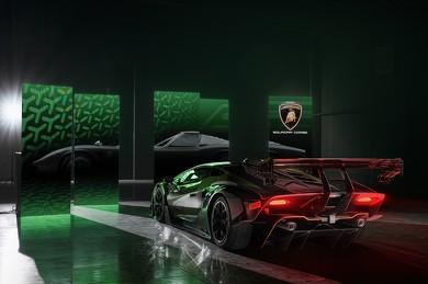 GT3カー以上のダウンフォースを発揮するエクステリア