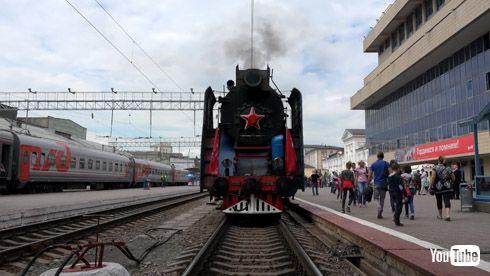 鉄道 YouTube 海外 ロシア SL
