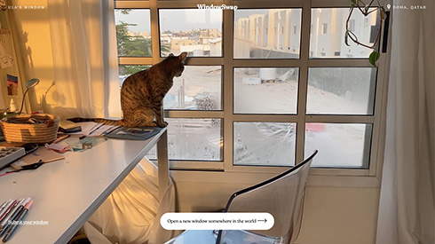 世界の誰かが見ている窓からの景色 WindowSwapが巣ごもり生活を和ませる