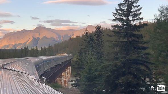 鉄道 YouTube カナディアン カナダ 観光 展望車 クルーズトレイン ブルートレイン