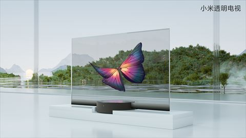 Mi TV LUX Transparent Edition