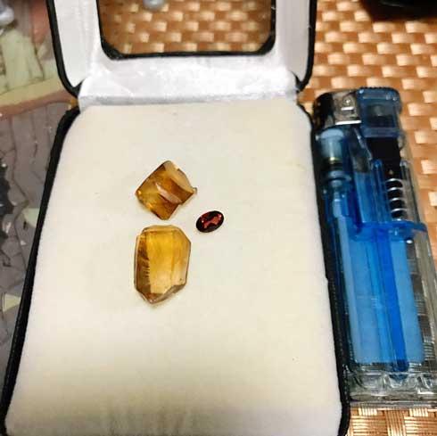 20年物 イカ醤油 塩の結晶 きれい 石