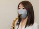 マスクをしたままサックスやトランペットが吹ける! 管楽器を楽しみたい人向けのマスクが8月18日に発売