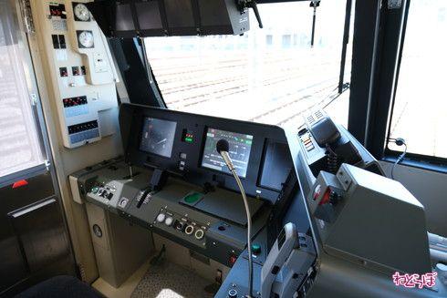 東京メトロ 17000系 運転台