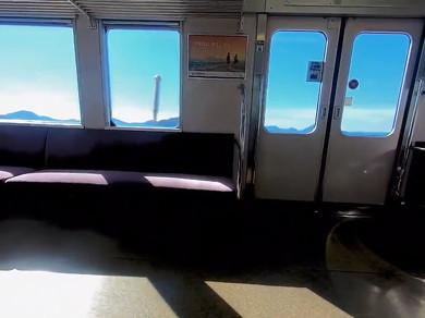 鉄道 海 予讃線 車窓 Twitter