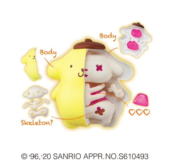 サンリオ骨格標本フィギュア